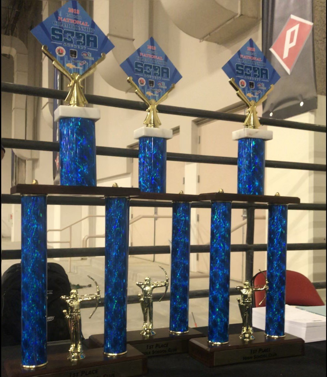 S3DA Trophies for Western Indoor